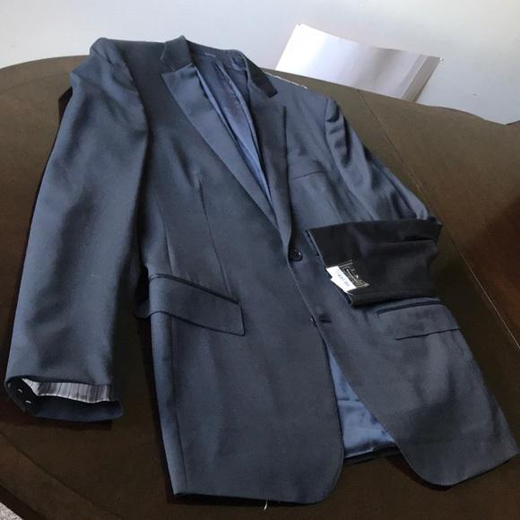 3f1c29be49 Ermenegildo Zegna navy multiseason 54L sport coat NWT